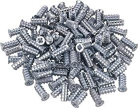 Gedotec speciale schroef Meubelschroef met volle schroefdraad | boring Ø 5 mm | Euroschroeven voor uittrekelementen | 100 ...