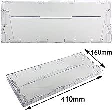 Spares2go Plastic Drawer Flap Front Handle for Hotpoint RFA52 Fridge Freezer