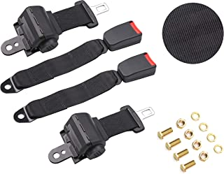 TOYI Universal Retractable Belts for Golf Carts - Set of 2 - Keep Inside The cart!