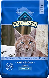 Blue Buffalo Wilderness High Protein Grain Free, Natural Adult Indoor Dry Cat Food, Chicken 11-lb
