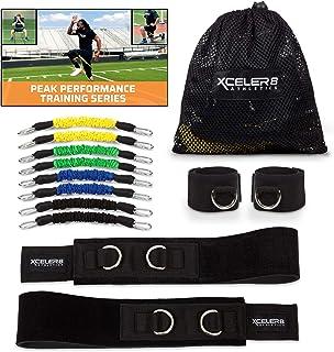 TRAINER DYNAMX: تمرین سرعت و انعطاف پذیری برای گروه های ورزشی مقاومت و تمرین ورزشی | تسمه تسمه ای پاداش | فیلم آموزشی | سریع Sprinting، انفجاری، Agile، قدرت، استقامت ...