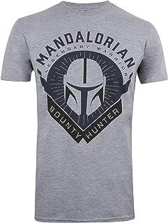 Star Wars Mandalorian-Bounty Hunter Camiseta para Hombre