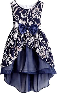 Áo quần dành cho bé gái – Girls Chiffon Floral Vintage Swing Lace Party Wedding Tulle Casual Dresses