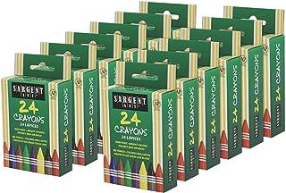 Sargent Art 55-0990 288 Set Crayons, 12 Pack
