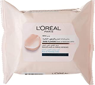 L'Oreal Paris Rare Flowers Wipes- Normal to Combination Skin X25