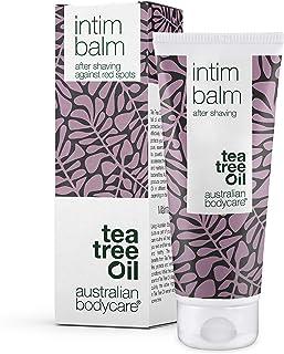 Australian Bodycare Intim Balm 100ml | Aftershave nach der Intimrasur | Gegen Eingewachsene Haare, rote Pickel, Rasurbrand nach Haarentfernung im Intimbereich & Bikinizone | Natürliches Teebaumöl