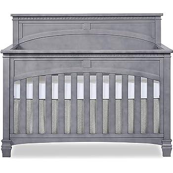 Evolur Santa Fe 5-in-1 Convertible Crib, Storm Grey