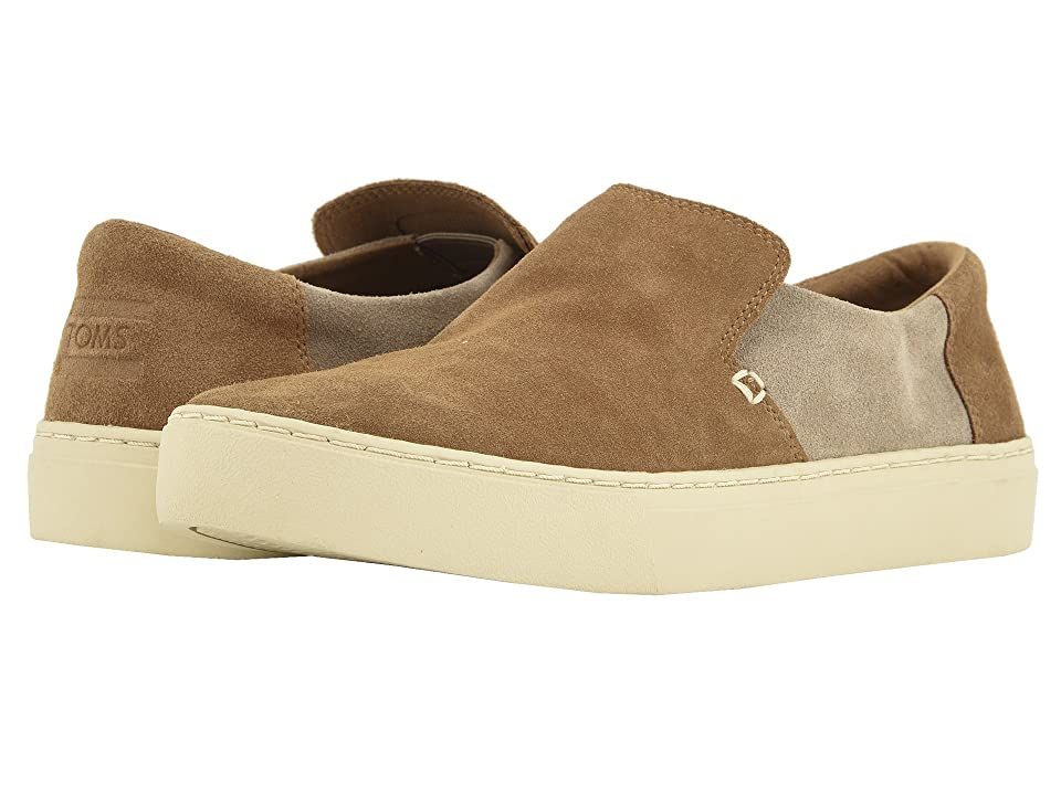TOMS Lomas (Toffee/Desert Taupe Suede) Men