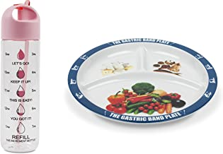 The Gastric Band Plate Increment Bottle Pink Basilica Diet Slimming Weight Loss Set Estimated Price : £ 16,99