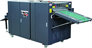 TRUCOAT (TRUVIL-16D) Inline UV Flood coater w/Extended Conveyor for In-Line sheet feeding - Includes UV coating tower, 3-lamp IR and UV system, up to 4,000 sheets/hour