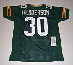william henderson jersey
