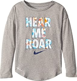 Hear Me Roar Modern Long Sleeve Tee (Little Kids)