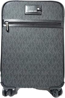 Travel Trolley Carry On Suitcase Black MK Signature