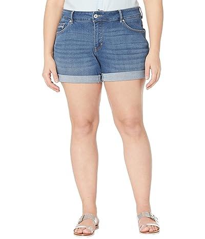 Jag Jeans Plus Size Alex Boyfriend Denim Shorts Women