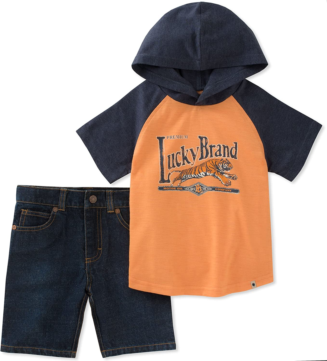 Popularity Lucky Brand Baby Boys 3 4 Shorts Classic Set Sleeves