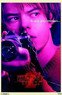 Trends International Netflix Stranger Things: Season 2 - Jonathan Wall Poster, 22.375