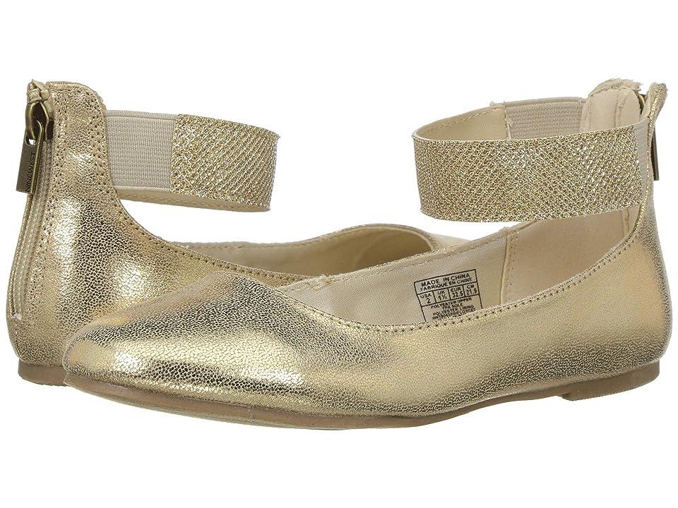 Nine West Kids Floycee (Little Kid/Big Kid) (Gold Shimmer/Glitter) Girls Shoes