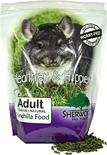 Sherwood Pet Health Adult Chinchilla Food - Alfalfa/Timothy Blend 4.5 lb