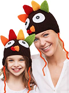 crochet turkey hat for adults