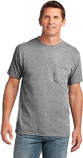 Men's 54 oz 100% Cotton Pocket T Shirt