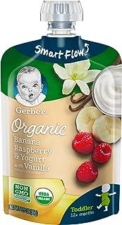 Gerber Organic Raspberry Vanilla Toddler
