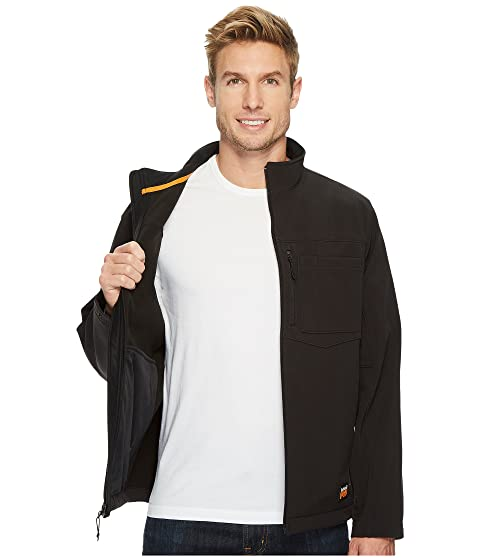 7204fb4a35a Timberland PRO Power Zip Windproof Softshell Jacket | Zappos.com