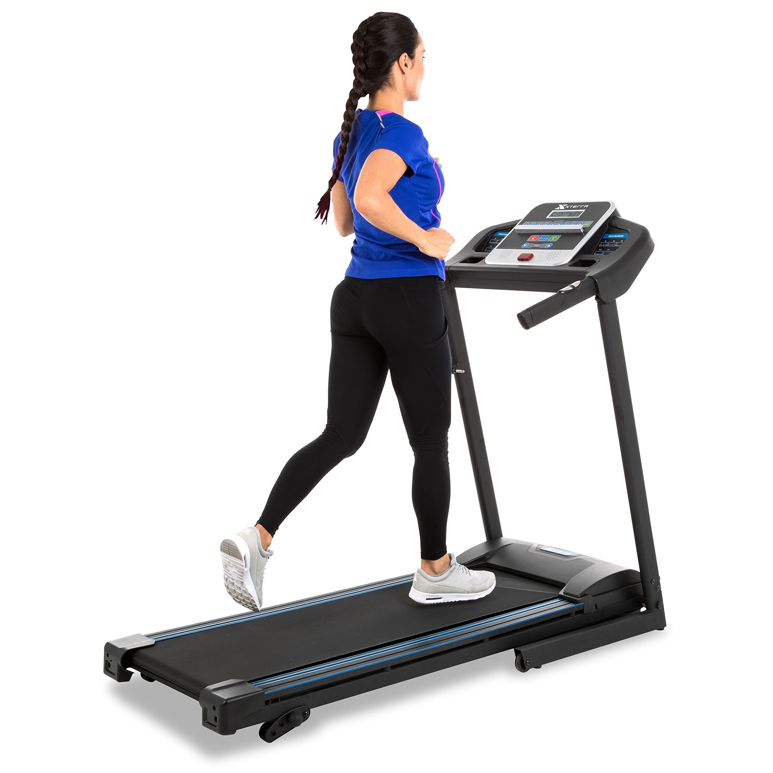 XTERRA Fitness TR150 Folding Treadmill Black at Amazon