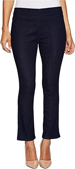 Petite Alina Pull-On Ankle Jeans in Rinse