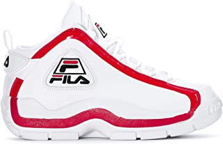 Men's Grant Hill 2 Basketball Shoes (7, White/Fila...