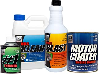 KBS Coatings 58032 69-72 AMC Engine Metallic Blue Motor Coater Engine Paint Kit