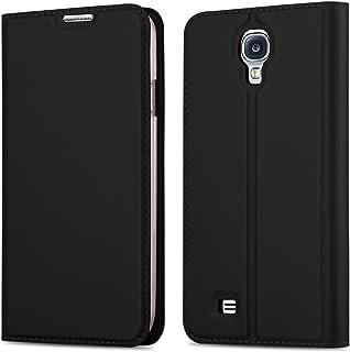 74ac2361a2d Cadorabo Funda Libro para Samsung Galaxy S4 en Classy Negro – Cubierta  Proteccíon con Cierre Magnético