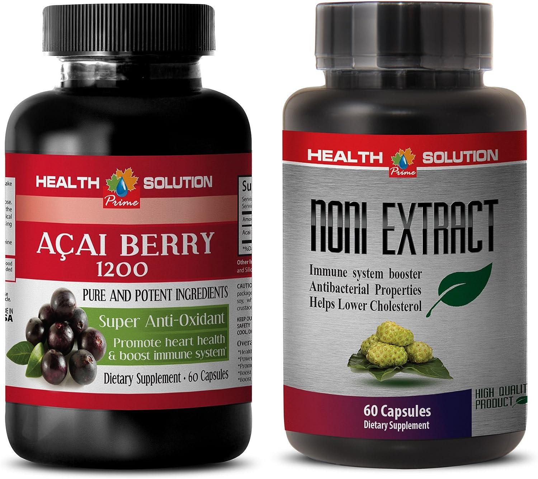 Immune System Credence Enhancer - ACAI Berry SALENEW very popular! NONI Vitamins acai B 2
