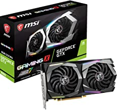 MSI Gaming GeForce GTX 1660 128-Bit HDMI/DP 6GB GDRR5 HDCP Support DirectX 12 Dual Fan VR Ready OC Graphics Card (GTX 1660...