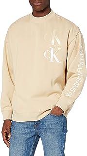 Calvin Klein CK Eco Fashion Mock Neck Maglione Uomo