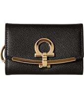 Salvatore Ferragamo - Icona Ganchio Leather Key Case