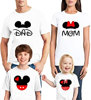 Natural Underwear Family Trip 2019 Castle T-Shirts Gift Mouse Shirts