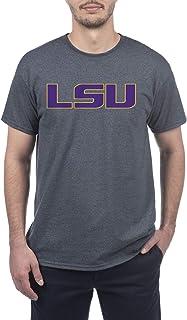 Elite Fan Shop Dark Heather Basic Short Sleeve College Icon T-Shirt