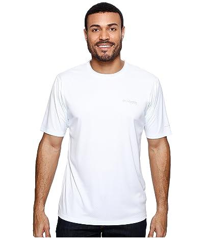 Columbia PFG ZERO Rulestm S/S Shirt (White) Men