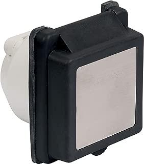 Marinco 301ELRV. Black 30 Amp Standard Power Inlet