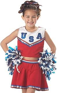 California Costumes Patriotic Cheerleader Child Costume, Small