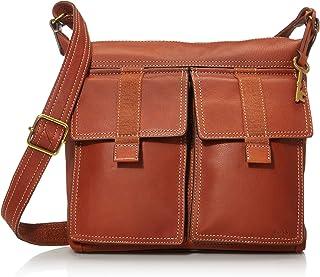 Women's Cargo Leather Crossbody Purse Handbag