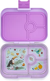 Yumbox Panino Leakproof Bento Lunch Box Container for Kids & Adults (Lila Purple)