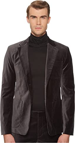 Vince - Velvet Patch Pocket Blazer
