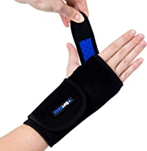 RiptGear Carpal Tunnel Wrist Brace Night Support - Adjustable Wrist Brace for Women and Men - Hand & Wrist Splint Compress...
