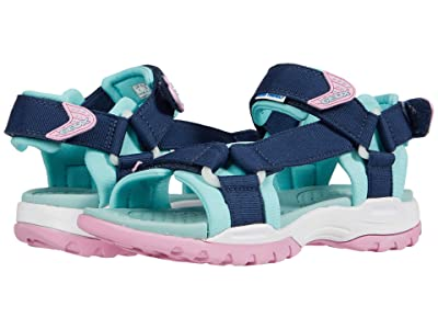 Geox Kids Borealis 10 (Big Kid) (Blue Azure) Girl