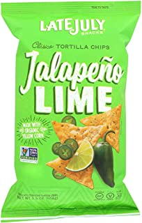 Late July Jalapeno Lime Tortilla chip, 5.5 oz