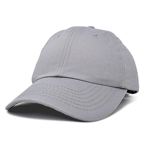 5919cf1ee45 DALIX Baseball Cap Dad Hat Plain Men Women Cotton Adjustable Blank  Unstructured Soft