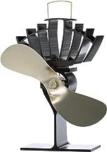Ecofan UltrAir, Heat Powered Stove Fan, Medium, Gold Blade