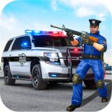 City Cop Police Simulator Game : Police VS Gangster Chase. Rescue Civilians From Gangsters. Open World Police Cop Game For Kids