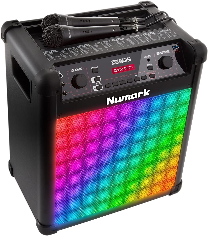 Numark Singmaster, 50 W blueetooth FullRange Speaker and Karaoke